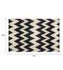 Sofiabrands Black Wool 60 x 96 Inch Modern Carpet