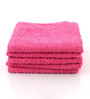 Softweave Pink Cotton 28 x 16 Face Towel - Set of 5