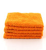 Softweave Yellow Cotton 16 x 28 Face Towel - Set of 5