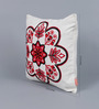 Solaj Multicolour Cotton 16 x 16 Inch Indian Ethnic Cushion Cover