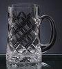 Solitaire Crystal Beer Mug BM-603(L)21Oz-Diamond