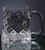 Solitaire Crystal Beer Mug BM-603(S)15Oz-Diamond
