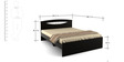 Spacewood Arko Queen Bed in Wenge Colour by Spacewood