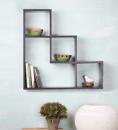 Spacewood Layla Brown Engineered Wood Wall Shelf