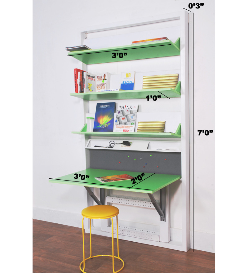 Buy Spaceone Book Shelf Cum Study Table Online Modern
