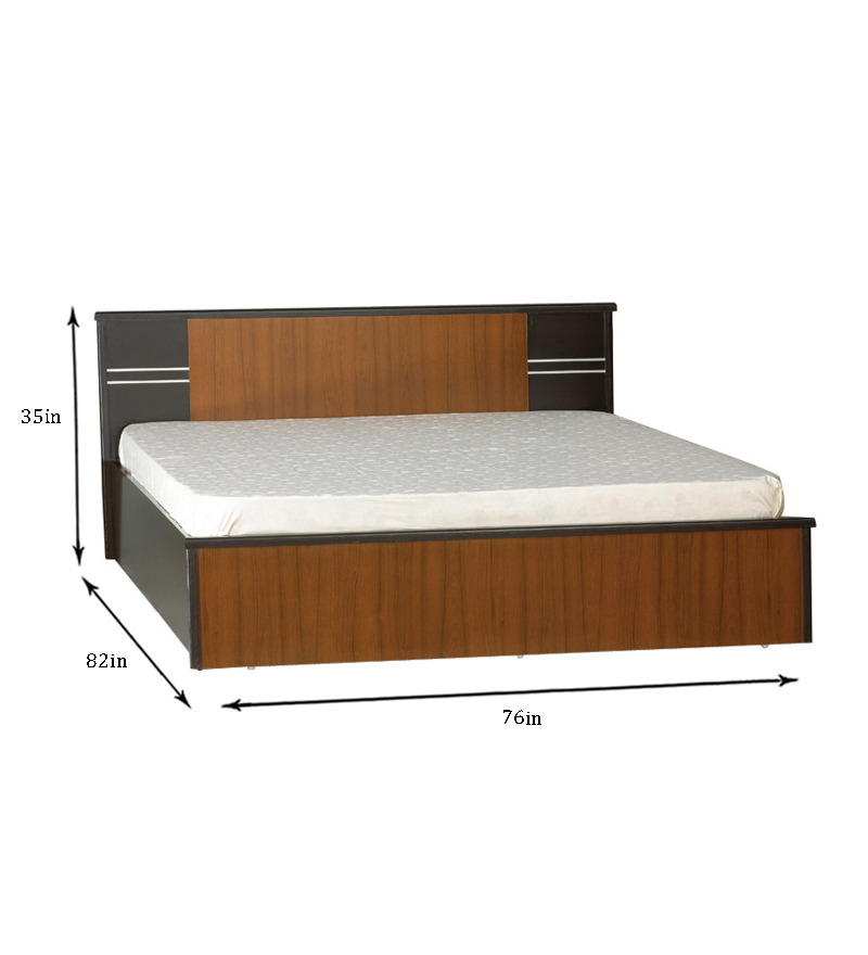 Spacewood Pluto King Size Bed With Storage By Spacewood