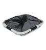 Spread Polyester 50 L Light Grey Laundry Basket