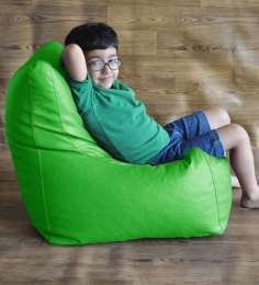 Style HomeZ Parrot Green L-Size Chair Shaped Bean Bag