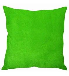 Stybuzz Lush Velvet Green Cushion Cover