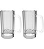 Stallion Barware Unbreakable Storm Beer Glass - 650 ML - Pack of 2