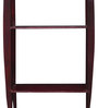 La Stella Passion Mahogany Wooden Tower 3 Tier Wall Shelf