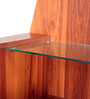 Sturdy Dressing Table in English Teak Finish by Kurl-On