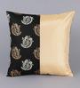 Stybuzz Beige Dupion Silk 16 x 16 Inch Cushion Covers - Set of 5