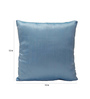 Stybuzz Blue & Black Poly Silk Cushion Covers - Set of 10