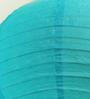 Stybuzz Blue Paper Round Lantern