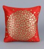 Stybuzz Red Velvet 16 x 16 Inch Cushion Covers - Set of 5