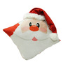 Stybuzz Red Velvet 16 x 16 Inch Santa Claus Cushion Cover with Insert