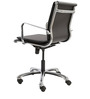 Stylish Black Ergonomic Chair in Black Colour by FabChair