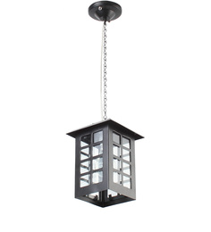 Superscape Outdoor Lighting Black Mild Steel Pendant