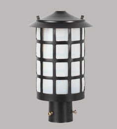 Superscape Outdoor Lighting Gl4621 Black Mild Steel Gates Light