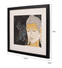 Sublime Galleria Paper 14 x 0.5 x 16.5 Inch Buddha 2 Framed Original Painting