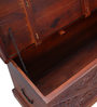 Prasuta Handcrafted Trunk in Honey Oak Finish by Mudramark