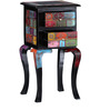 Kalatya - Painted End Table with Two Drawers by Mudramark