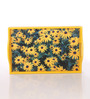 Clasicraft Yellow Wooden Sunflower Tray