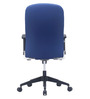 Supremo Medium Back Office Chair in Blue colour by BlueBell Ergonomics