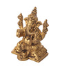 Suriti Golden Brass Ganesha Idol