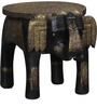 Bhadra  End Table with Repousse work by Mudramark