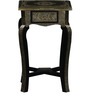 Badhra End Table with Brass Repousse Work by Mudramark