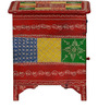 Varna Hand Painted End Table by Mudramark