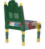 Raaga - Painted Green Chair by Mudramark