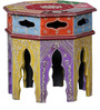 Santani - Painted Set Of Tables by Mudramark
