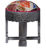 Jefferson Stool with Patchwork by Bohemiana