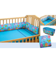 Swayam Digitally Printed Cot Bumper (Large / Std Size) - 1502069