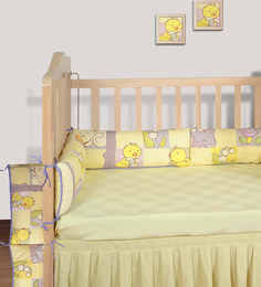 Swayam Digitally Printed Cot Bumper (Large / Std Size) - 1502058