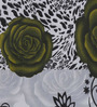 Swastika Green Cotton Queen Size Bed Sheets with 2 Pillow Covers