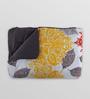 Swastika Multicolour 100% Cotton Queen Size Bed Cover