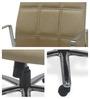 Sweden High Back Office Chair by Chromecraft