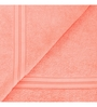 Swiss Republic Brown and Pink Cotton 28 x 59 Bath Towel - Set of 2