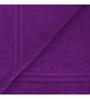Swiss Republic Red and Purple Cotton 28 x 59 Bath Towel - Set of 2