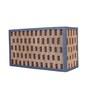 Sylvn Studio Black Corrugated Cardboard Fence Wall Light