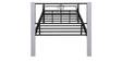 Target Wrought Iron Single Bed in White Colour by Evok