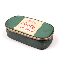 Tasty Food Lunch Box Set Of 2 -GREEN