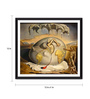 Tallenge Photographic Paper 12 x 1 x 12 Inch Modern Masters Collection Geopoliticus Child by Salvador Dali Framed Digital Art Print