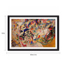 Tallenge Photographic Paper 18 x 1 x 12 Inch Modern Masters Collection Composition Vii by Wassily Kandinsky Framed Digital Art Print