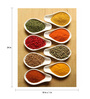 Tallenge Photographic Paper 18 x 1 x 24 Inch Art For Kitchen Pinch Of Spices Framed Digital Art Print