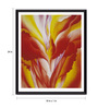 Tallenge Photographic Paper 18 x 1 x 24 Inch Modern Masters Collection Red Canna by Georgia O'Keeffe Framed Digital Art Print